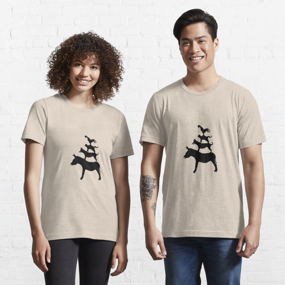 The Town Musicians of Bremen (Die Bremer Stadtmusikanten) - light tees Essential T-Shirt