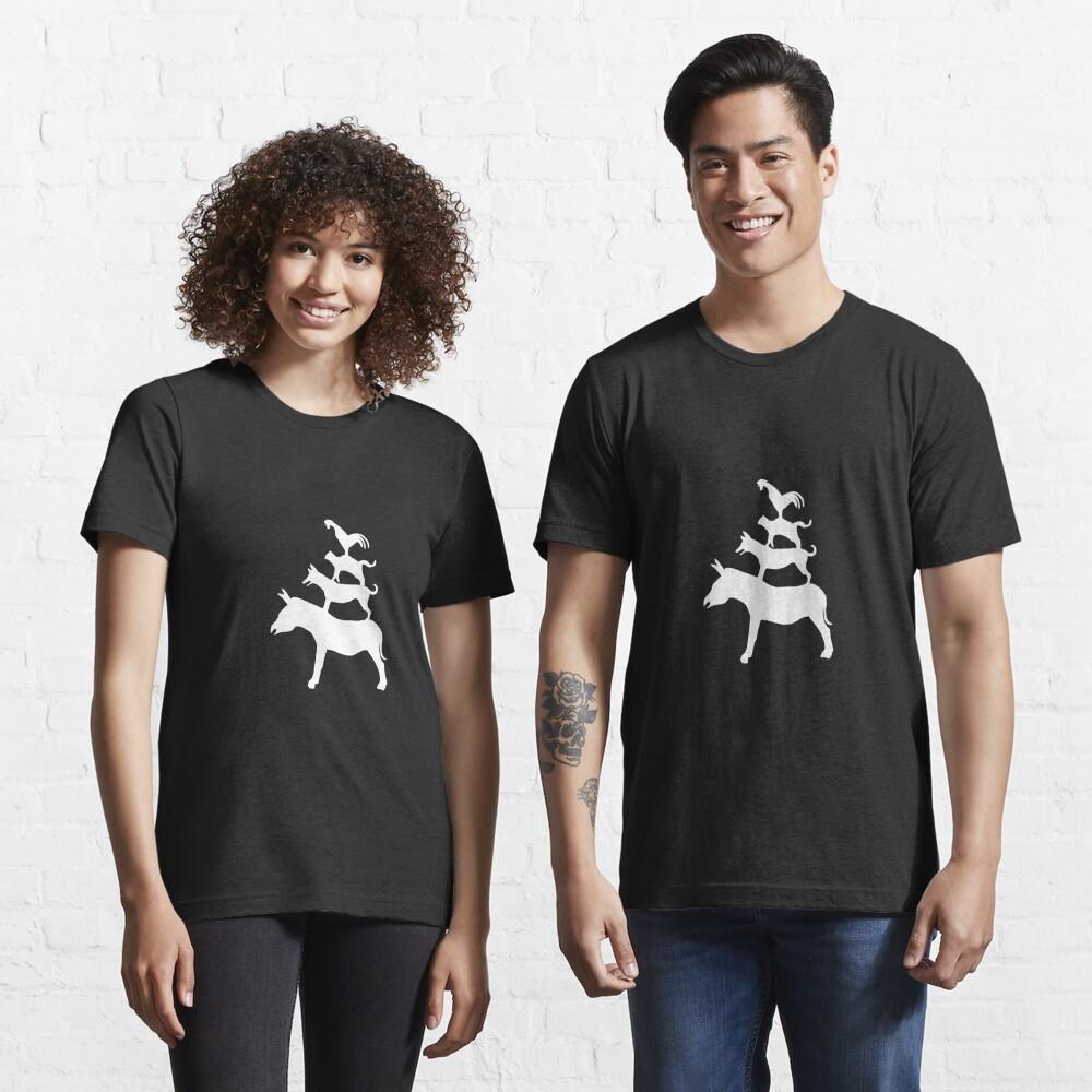 The Town Musicians of Bremen (Die Bremer Stadtmusikanten) - dark tees Essential T-Shirt