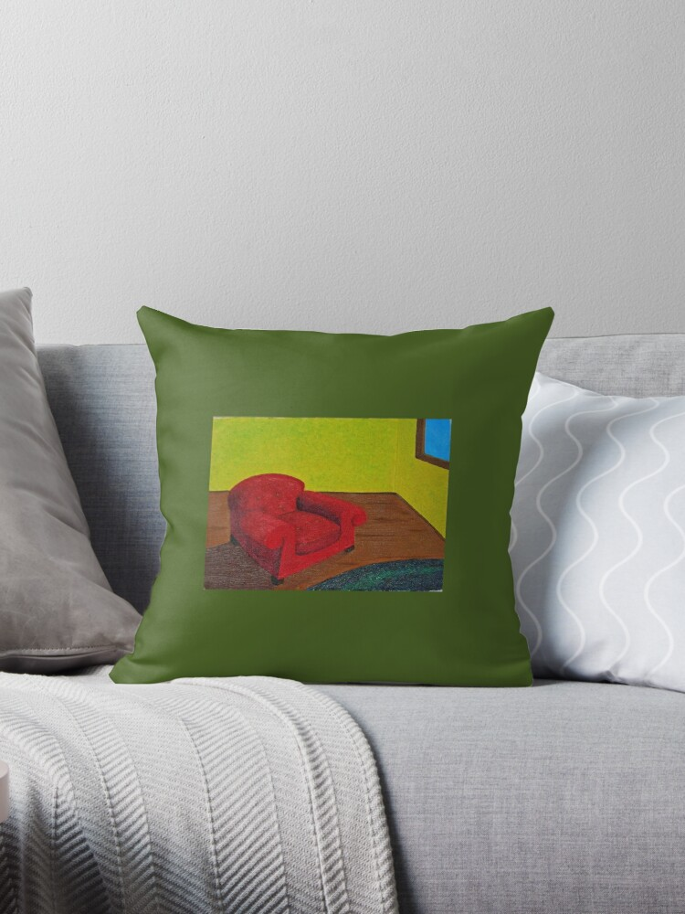 Red Chair by Cyndi Gonzalez