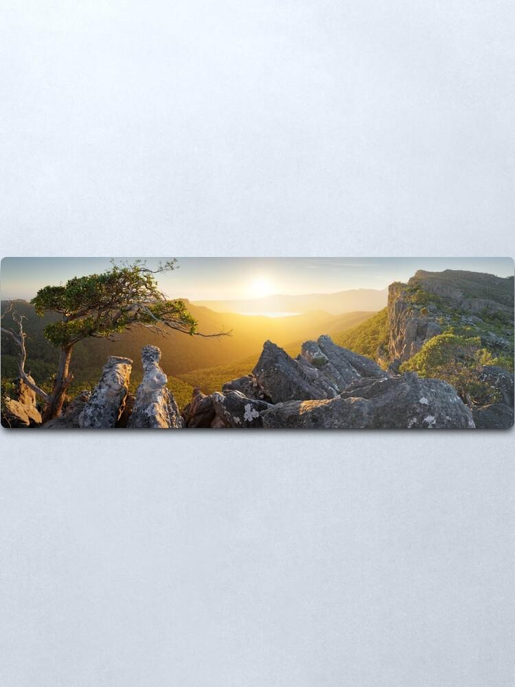 Alternate view of Morning finds Mt Rosea, Grampians, Victoria, Australia Metal Print