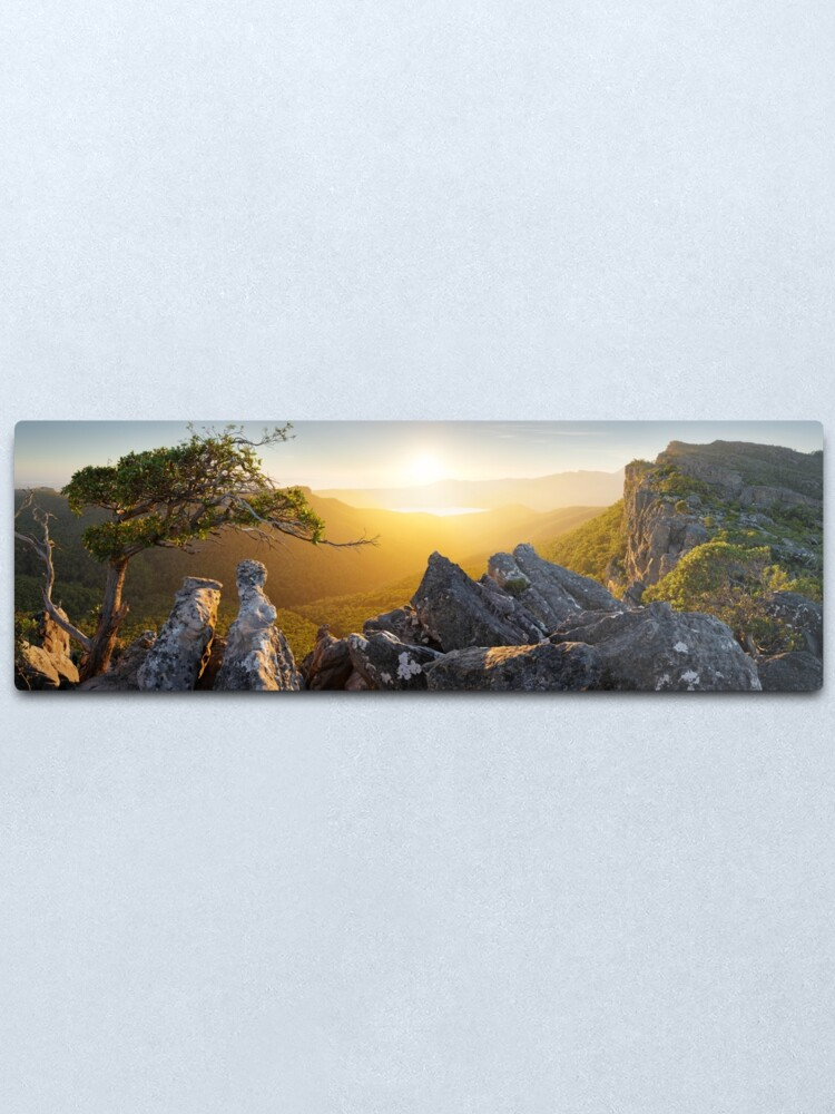 Alternate view of Morning finds Mt Rosea, Grampians, Victoria, Australia Metal Print
