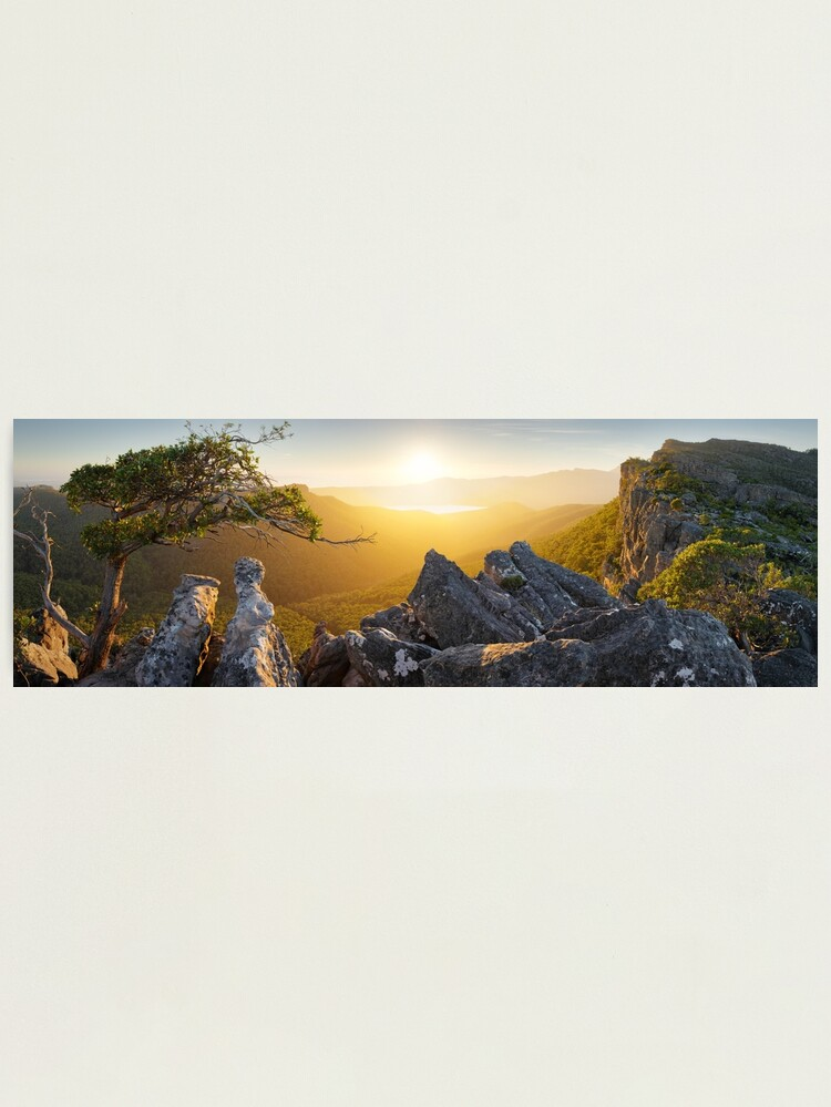 Alternate view of Morning finds Mt Rosea, Grampians, Victoria, Australia Photographic Print
