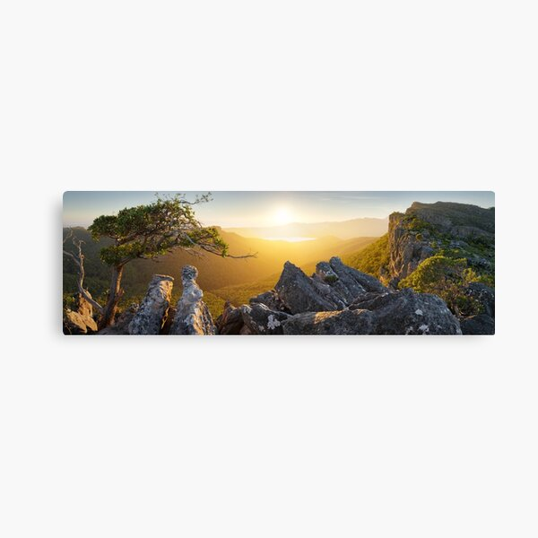 Morning finds Mt Rosea, Grampians, Victoria, Australia Canvas Print
