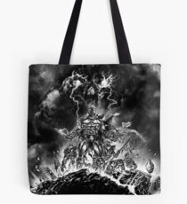 Undead Spartans Tote Bag