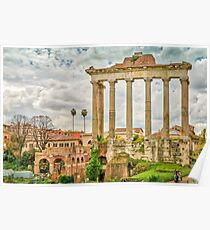 The Temple of Saturn Poster