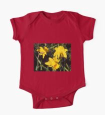 Daffodils Dreaming One Piece - Short Sleeve