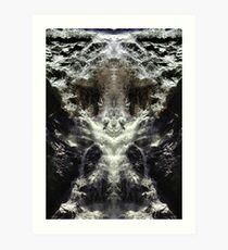 Karri Valley Water Fall Art Print
