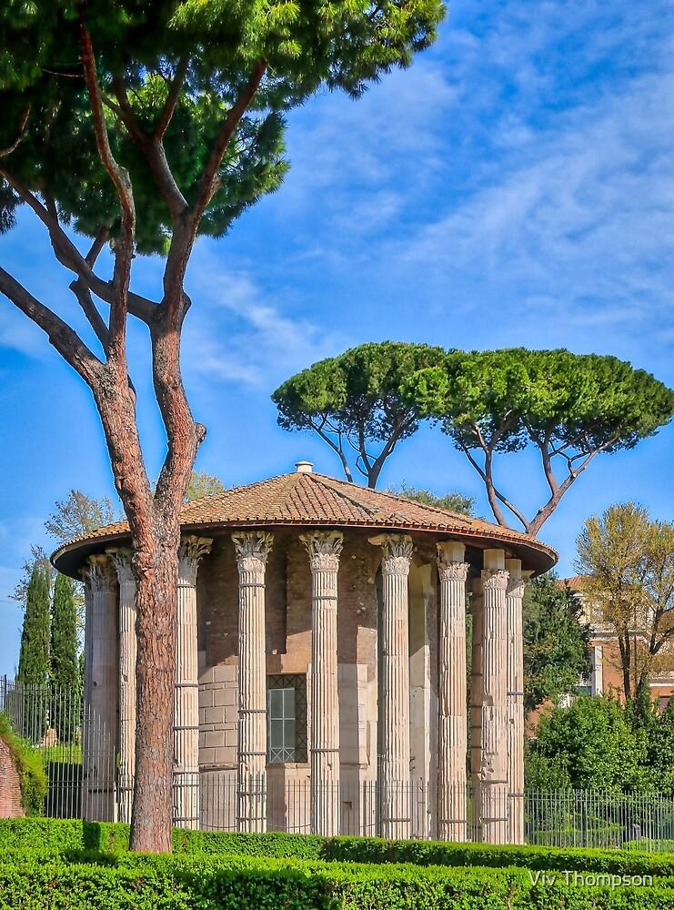 Temples of the Forum Boarium by Viv Thompson