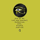 Eye of Ra. Q by Mark Salmon