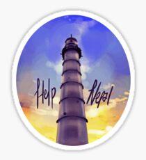 Help Nepal: Charity Fund  Sticker