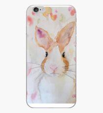 Dijon the Big-hearted Rainbow Bunny iPhone Case