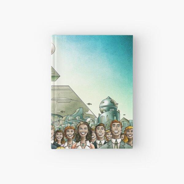 "Ironweed - ""Your World Of Tomorrow"" (Utopia) Hardcover Journal"