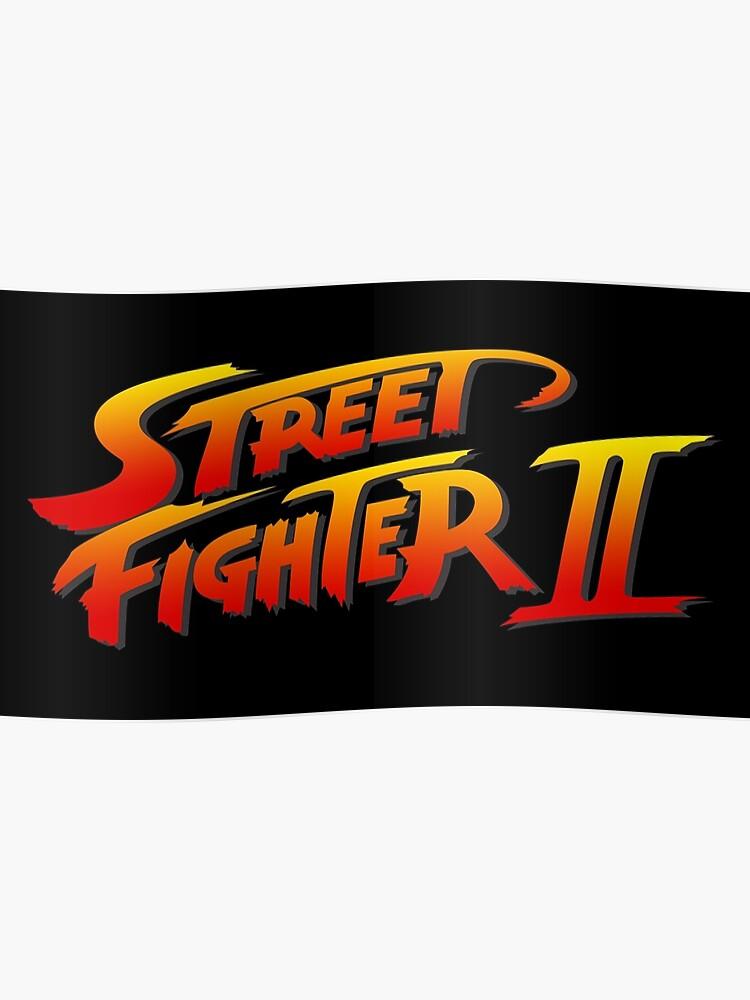 Street Fighter 2 II Logo | Poster