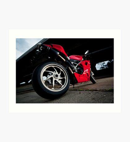 Ducati 1198S  Art Print
