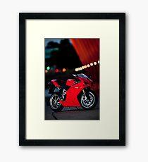 Ducati 1198S  Framed Print