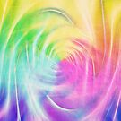 Abstract light colorful dynamic energy by blackhalt
