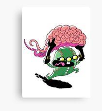 Runaway Brains Canvas Print