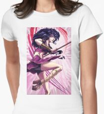 Anime Girl - Natsume Women's Fitted T-Shirt