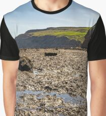 Scar and cliffs Skinningrove Graphic T-Shirt