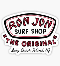 RJ Surf Shop Long Beach Island, NJ Sticker