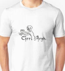 Camiseta ajustada Grrr Argh