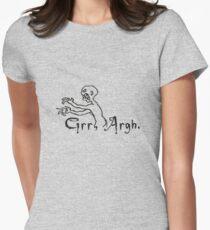 Grrr Argh Womens Fitted T-Shirt