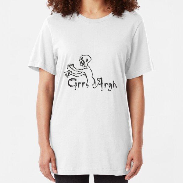 Grrr Argh Slim Fit T-Shirt