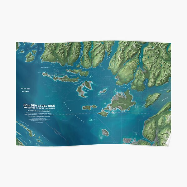 Vancouver Sea Level Rise Poster