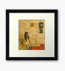 Time Is Moving Too Fast Framed Print