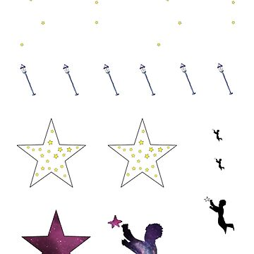 the little prince - sticker set A by RMBlanik