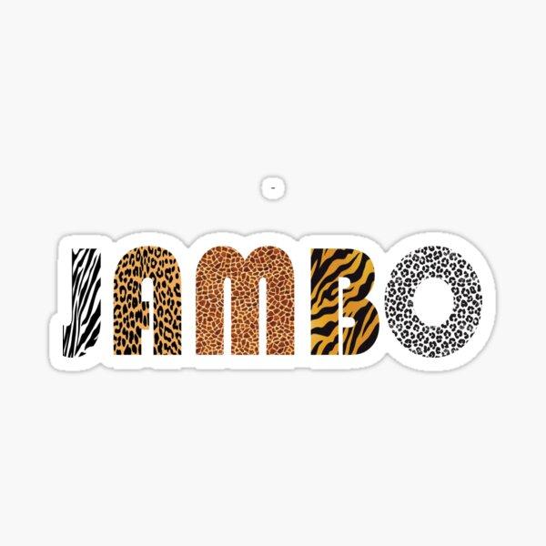 """Animal Kingdom """"Jambo"""" Sticker"""