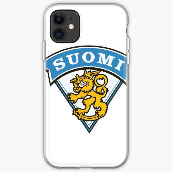 Finland Hockey Emblem  iPhone Soft Case