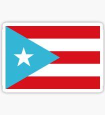 Flag of Puerto Rico (1895-1952)/ Nationhood Flag Sticker