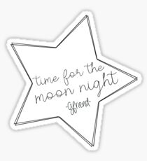 GFRIEND - Time for the moon night STAR Sticker