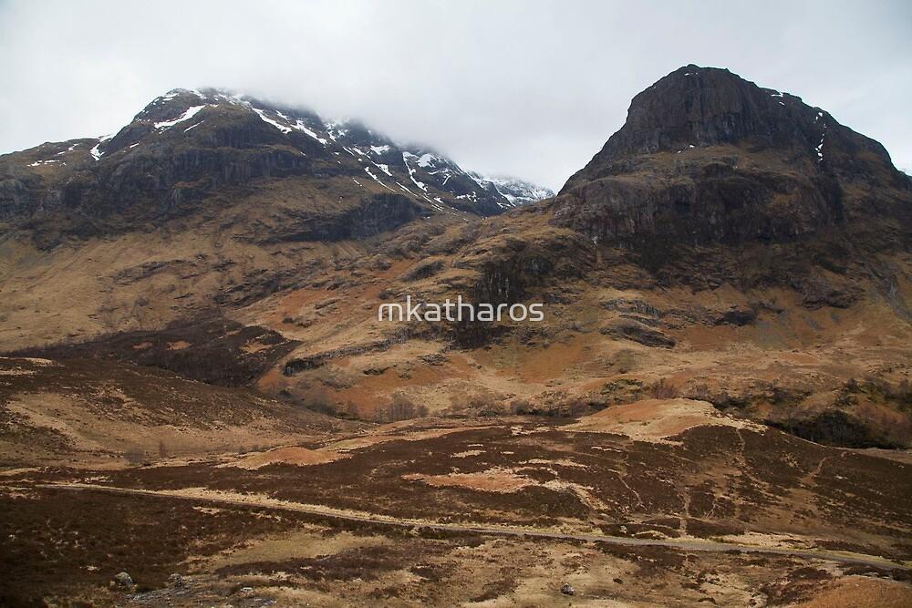 Scottish Highlands by mkatharos