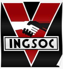 INGSOC - 1984 MOVIE Poster