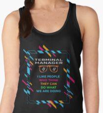 TERMINAL MANAGER Women's Tank Top