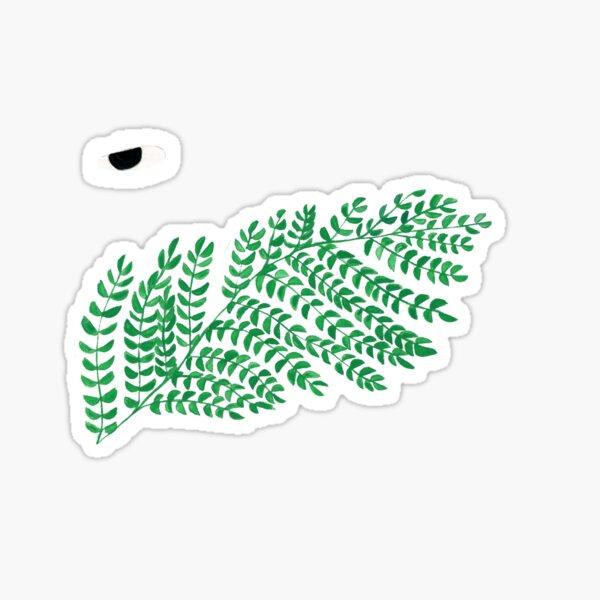 Green branch Sticker