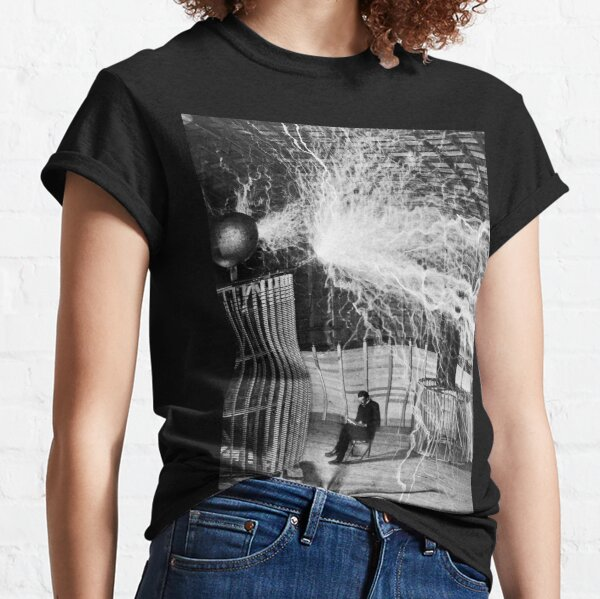 nikola testa lightning Classic T-Shirt