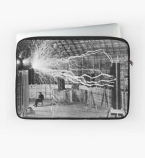 nikola testa lightning Laptop Sleeve