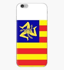 Sicilian Independence Flag iPhone Case