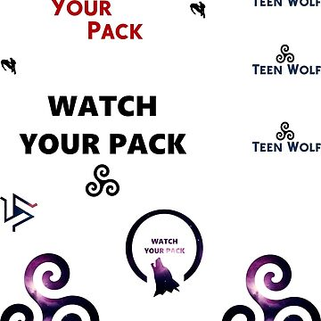 Teen Wolf - sticker set B by RMBlanik