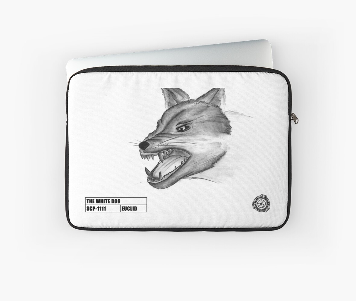 """""""SCP-1111"""" Laptop Sleeves by SCPillustrated 