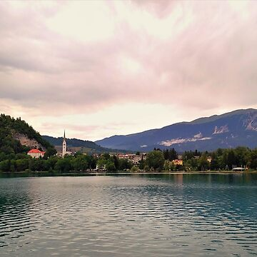 Peaceful Lake Bled, Slovenia by TalBright