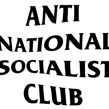 Anti Nazi Club by Graograman