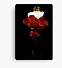 Cloud Of Cream Canvas Print