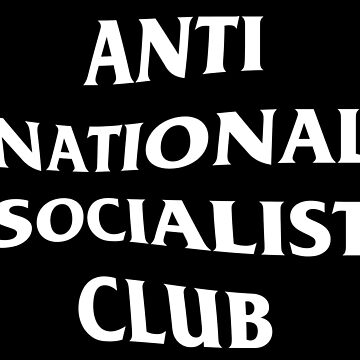 Anti Nazi Club (White) by Graograman
