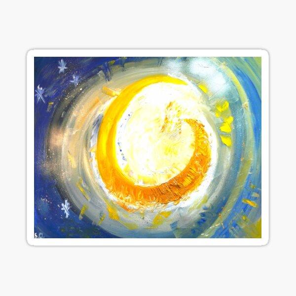 Au Clair de la lune Sticker