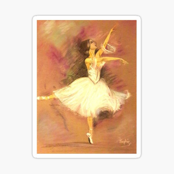 Danseuse Etoile Sticker