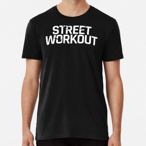 Street Workout Distressed Premium T-Shirt